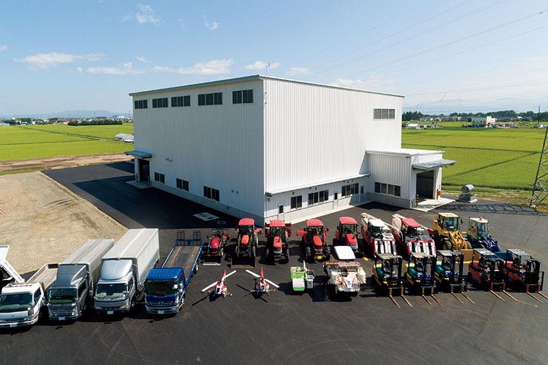 オヤマアグリサービス ライスセンター