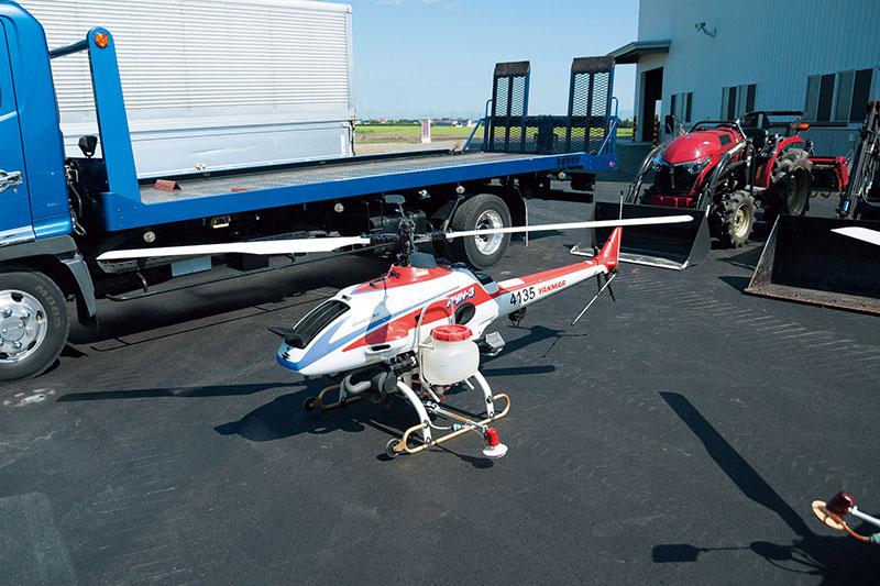 農業用ヘリコプター